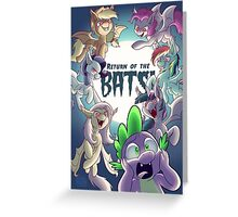 Return of the Bats! Greeting Card