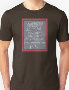 Specials Boards - Poutine on the Ritz Unisex T-Shirt
