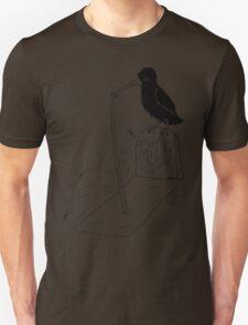 Crow Diet (black design) Unisex T-Shirt