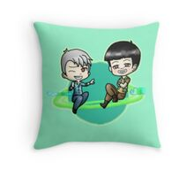Yugyeom and JR Throw Pillow