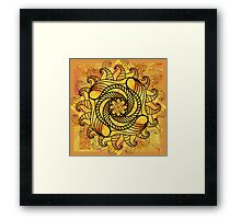 Trailing Tendrils Framed Print