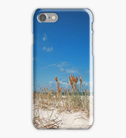 On the Beach at Straddie - Qld Australia iPhone Case/Skin