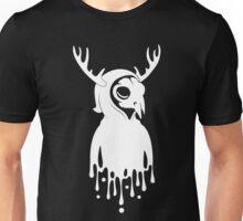 WHT on BLK: Self Portrait Unisex T-Shirt
