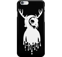 WHT on BLK: Self Portrait iPhone Case/Skin