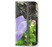 Pretty as a flower iPhone Wallet/Case/Skin