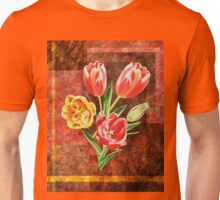 Decorative Tulip Bouquet Unisex T-Shirt