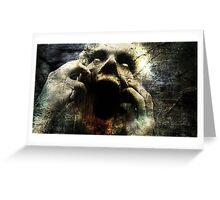 Evil Dead - Zombie t-shirts Greeting Card