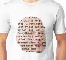 Rick Harrison Face Unisex T-Shirt
