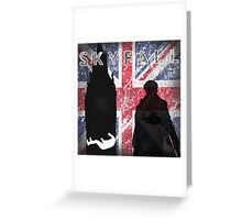 Skyfall Greeting Card