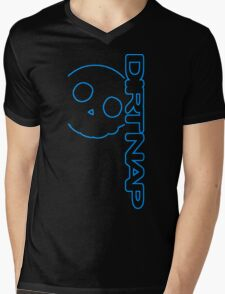 Dirt Nap Vert Logo Mens V-Neck T-Shirt