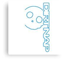 Dirt Nap Vert Logo Canvas Print