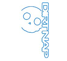 Dirt Nap Vert Logo Photographic Print