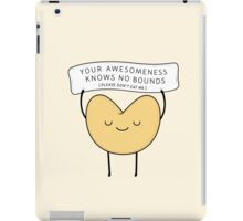 fortune cookie iPad Case/Skin