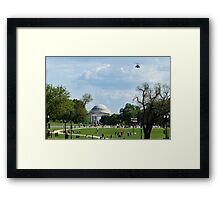 "Air Force One ""Approach"" Framed Print"