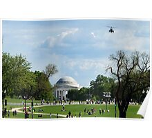 """Air Force One """"Approach"""" Poster"""