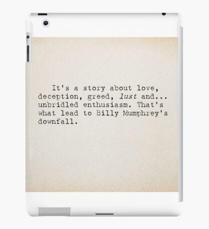 It's A Story. . . iPad Case/Skin