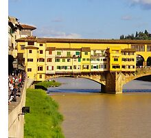 Ponte Vecchio by Cristy Hernandez