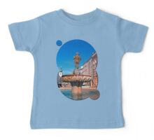 Naked boy bum on the water Baby Tee