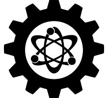 Technomage Industries Steampunk Cog - plain outline by aromis
