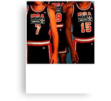 NUMBERS. · 1992 USA DREAM TEAM. Canvas Print