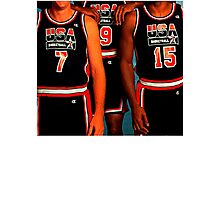 NUMBERS. · 1992 USA DREAM TEAM. Photographic Print