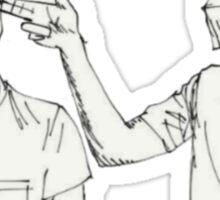 Guns For Hands Sketch Sticker