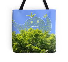 Happy Tree Monster Tote Bag