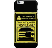 The Burgers Are People! iPhone Case/Skin