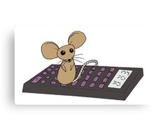Mathematics Mouse Canvas Print