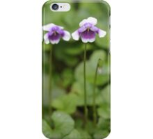 Viola hederacea iPhone Case/Skin