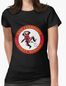 San Francisco 49ers Womens Fitted T-Shirt