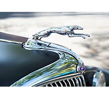 HOOD ORNAMENT FORD Photographic Print