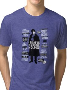 DETECTIVE QUOTES Tri-blend T-Shirt