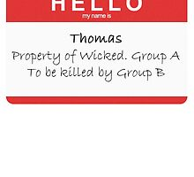 Thomas Property of WICKED by rebeccabrought