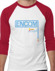 ENCOM (1982 Logo) Men's Baseball ¾ T-Shirt