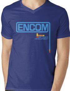 ENCOM (1982 Logo) Mens V-Neck T-Shirt