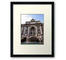 The Great Fountain View Framed Print