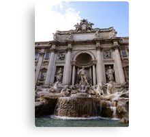 The Great Fountain View Canvas Print