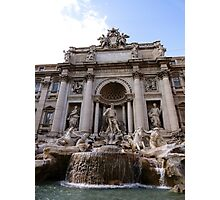 The Great Fountain View Photographic Print
