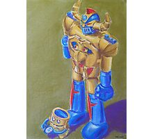 Mysterious Toy Robot Narrative Photographic Print