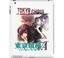 T G reflections glowing text  iPad Case/Skin