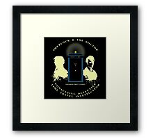 SHERLOCK AND 10TH Framed Print