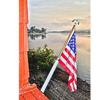 Home of the Flagman Photographic Print