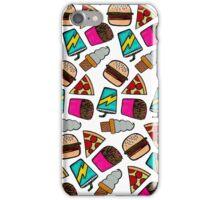 Food Doodles iPhone Case/Skin