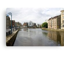 A View of Water of Leith Scotland Canvas Print