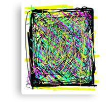 Pop Caos Canvas Print