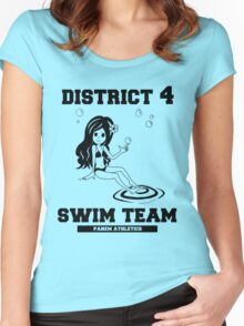 District 4 Swim Team Women's Fitted Scoop T-Shirt