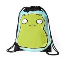 Mean Little Night Light Drawstring Bag