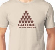 Coffee is a Food Group Unisex T-Shirt