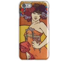 Alphonse Mucha - Documents 2 iPhone Case/Skin